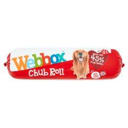 Webbox Chub Roll Beef Flavour 1-7 Years 720g