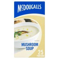 McDougalls Mushroom Soup 25 Portions 357g
