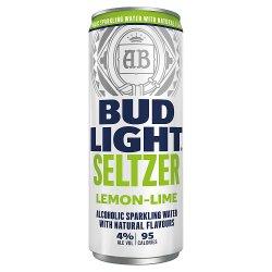 Bud Light Seltzer Lemon-Lime Can 300ml
