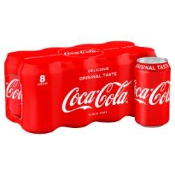 Coca-Cola Original Taste 8 x 330ml PMP £3.99