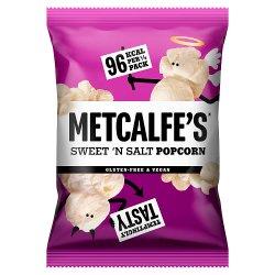 Metcalfe's Skinny Popcorn Sweet 'N Salt 80g