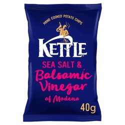KETTLE® Sea Salt & Balsamic Vinegar of Modena 40g