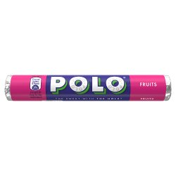 Polo Fruits Sweets Tube 37g