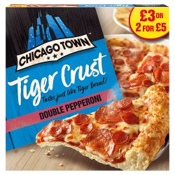 Chicago Town Tiger Crust Cheese Medley Pizza 305g (PMP)
