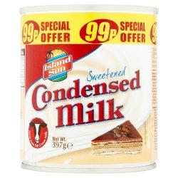 Island Sun Sweetened Condensed Milk 397g