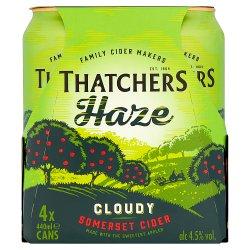 Thatchers Haze Cider 4 x 440ml
