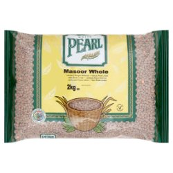 White Pearl Masoor Whole 2kg