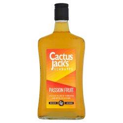 Cactus Jack's Schnapps Passion Fruit 70cl