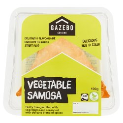 Gazebo Cuisine Grab & Go! Vegetable Samosa 100g