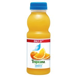 Tropicana Orange Juice Smooth GBP1 PMP