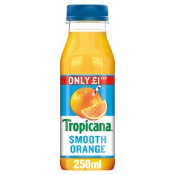 Tropicana Smooth Orange Juice PMP 250ml