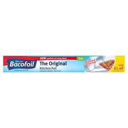 Bacofoil® The Original Kitchen Foil with Easy-Cut System 30cm x 5m PMP £1.49