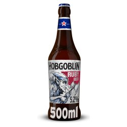 Wychwood Brewery Hobgoblin Traditionally Crafted Legendary Ruby Beer 500ml