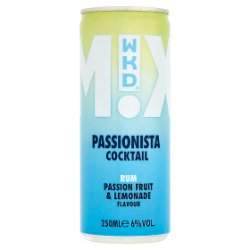 WKD Mixed Cocktail Passionista 250ml