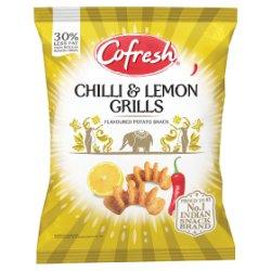 Cofresh Chilli & Lemon Grills Flavoured Potato Snack 28g
