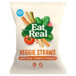 Eat Real Veggie Straws Kale Tomato Spinach 45g