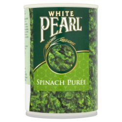 White Pearl Spinach Purée 395g