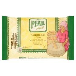 White Pearl Cornmeal Fine 500g