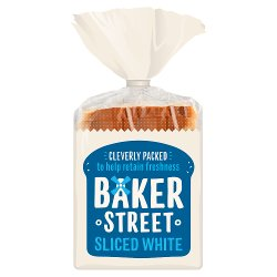 Baker Street Sliced White 550g