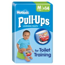 Huggies® Pull-Ups® Day Time Boys Size M (11-18kg, 24-40lbs) 14 Pants