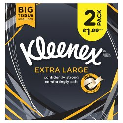 Kleenex® Extra Large Tissues 2 Boxes 6 x Case £1.99 PMP