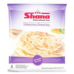 Shana Simply Authentic Food 5 Original Paratha 400g