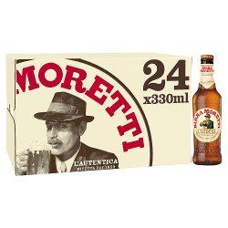Birra Moretti Premium Lager 24 x 330ml
