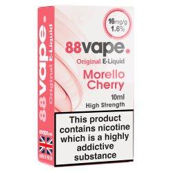 88Vape Original E-Liquid 16mg Morello Cherry 10ml