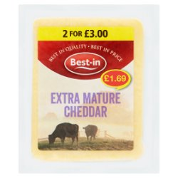 Best-in Extra Mature Cheddar 200g