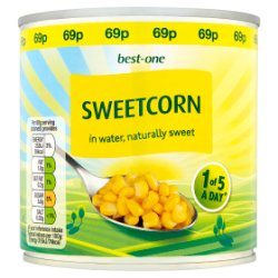 Best-One Sweetcorn in Water 340g