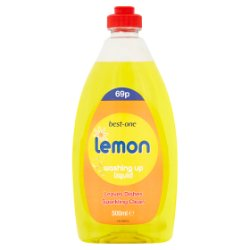Best-One Lemon Washing Up Liquid 500ml