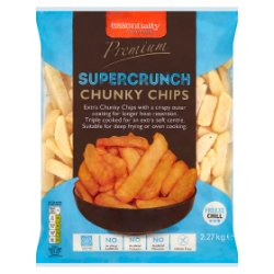 Essentially Catering Premium Supercrunch Chunky Chips 2.27kg
