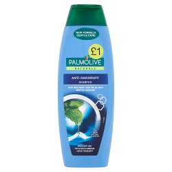 Palmolive Naturals Anti Dandruff Shampoo with Wild Mint 350ml PMP £1