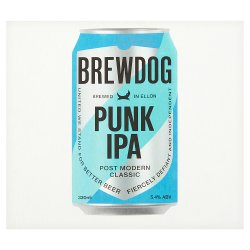 BrewDog Punk Post Modern Classic IPA 4 x 330ml