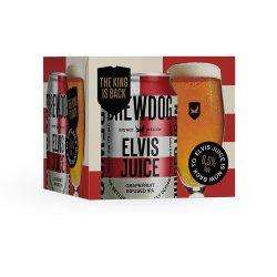 BrewDog Elvis Juice Grapefruit Infused IPA 4 x 330ml