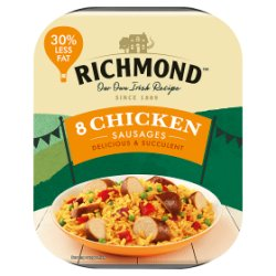 Richmond 8 Chicken Sausages 400g