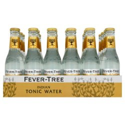 Fever-Tree Premium Indian Tonic Water 24 x 200ml
