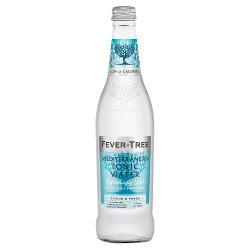 Fever-Tree Refreshingly Light Mediterranean Tonic Water 500ml
