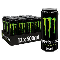 Monster Energy Drink 12 x 500ml