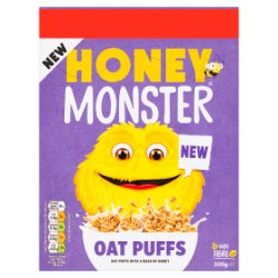 Honey Monster Oat Puffs 320g