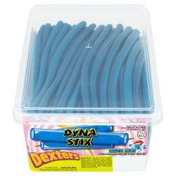 Dexters Dyna Stix Mouth Paint Blue Raspberry Flavour Candy 110 Pieces