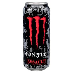 Monster Assault Energy Drink Can PM £1.35