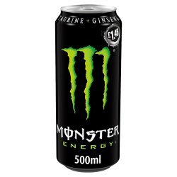 Monster Energy Drink 12 x 500ml PM £1.45