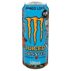 Monster Mango Loco Energy Drink 12 x 500ml PM £1.45