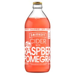 Smirnoff Cider Raspberry and Pomegranate 500ml
