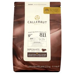Callebaut Finest Belgian Chocolate Dark Callets 2.5kg