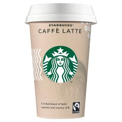 Starbucks Fairtrade Caffè Latte 220ml