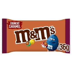M&M's Crunchy Caramel Chocolate Bag 36g