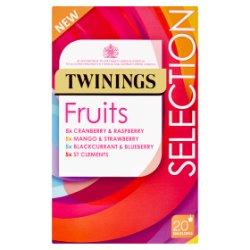 Twinings Fruits Selection 20 Envelopes 40g
