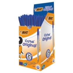 BIC Cristal Blue Pens 50 Pack